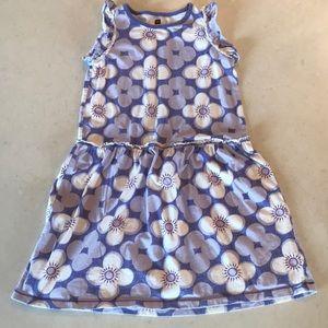 EUC Girl's Tea Collection Floral Summer Dress Sz 8
